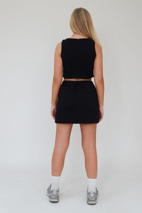 Awfully Pretty1043 600x900 - Sport Edition Mini Skirt In Black
