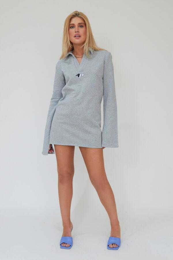 Awfully Pretty1052 600x900 - Needed Mini Dress In Grey