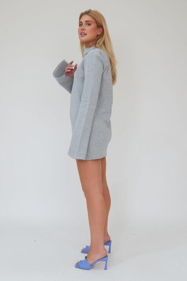 Awfully Pretty1055 600x900 - Needed Mini Dress In Grey
